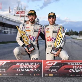 Sky Tempesta Racing secure GT World Challenge Sprint Cup title after impressive come-back in Barcelona