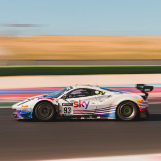 Strong pace and performance for Sky Tempesta Racing, but challenges limit the results at Misano